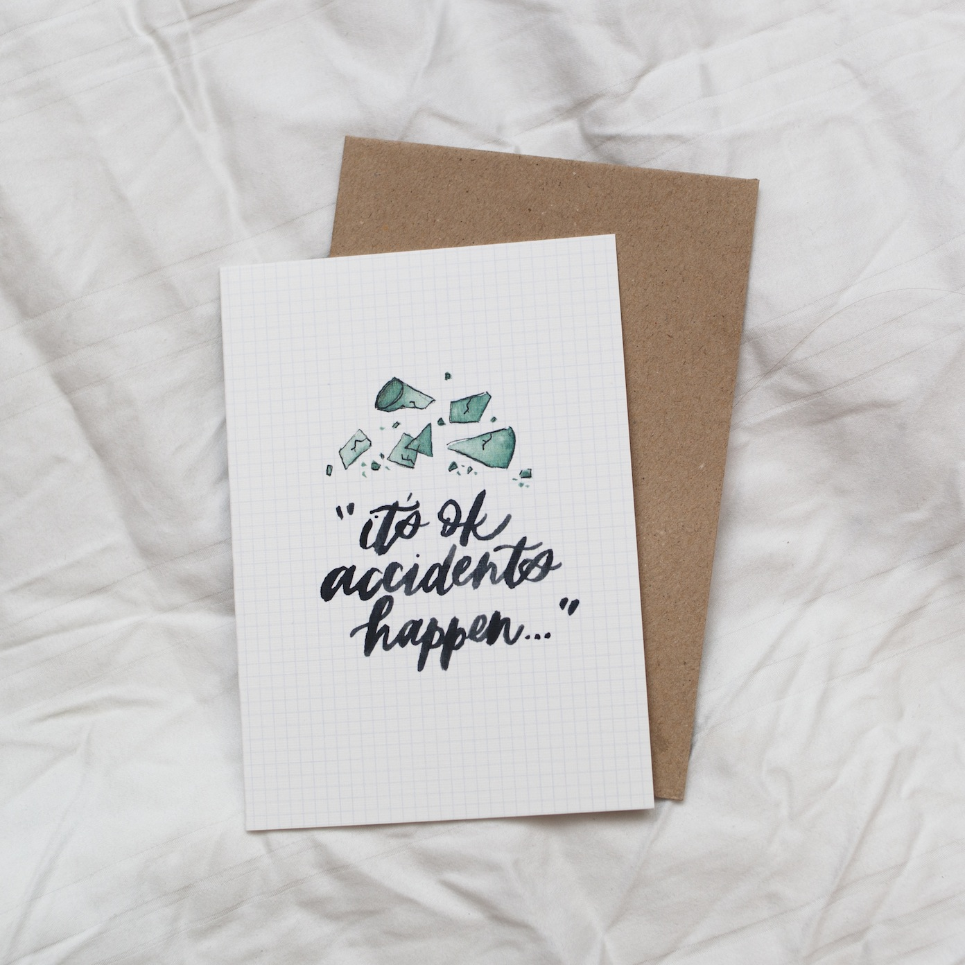 Accidents Happen | Greeting Card