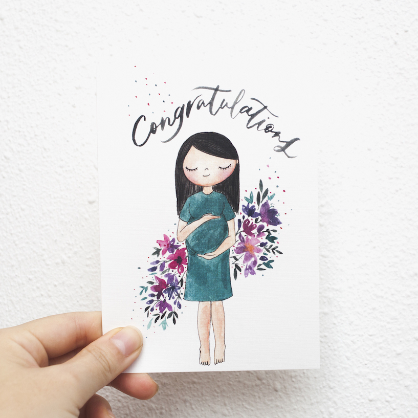 Congratulations (Pregnancy) | Postcard