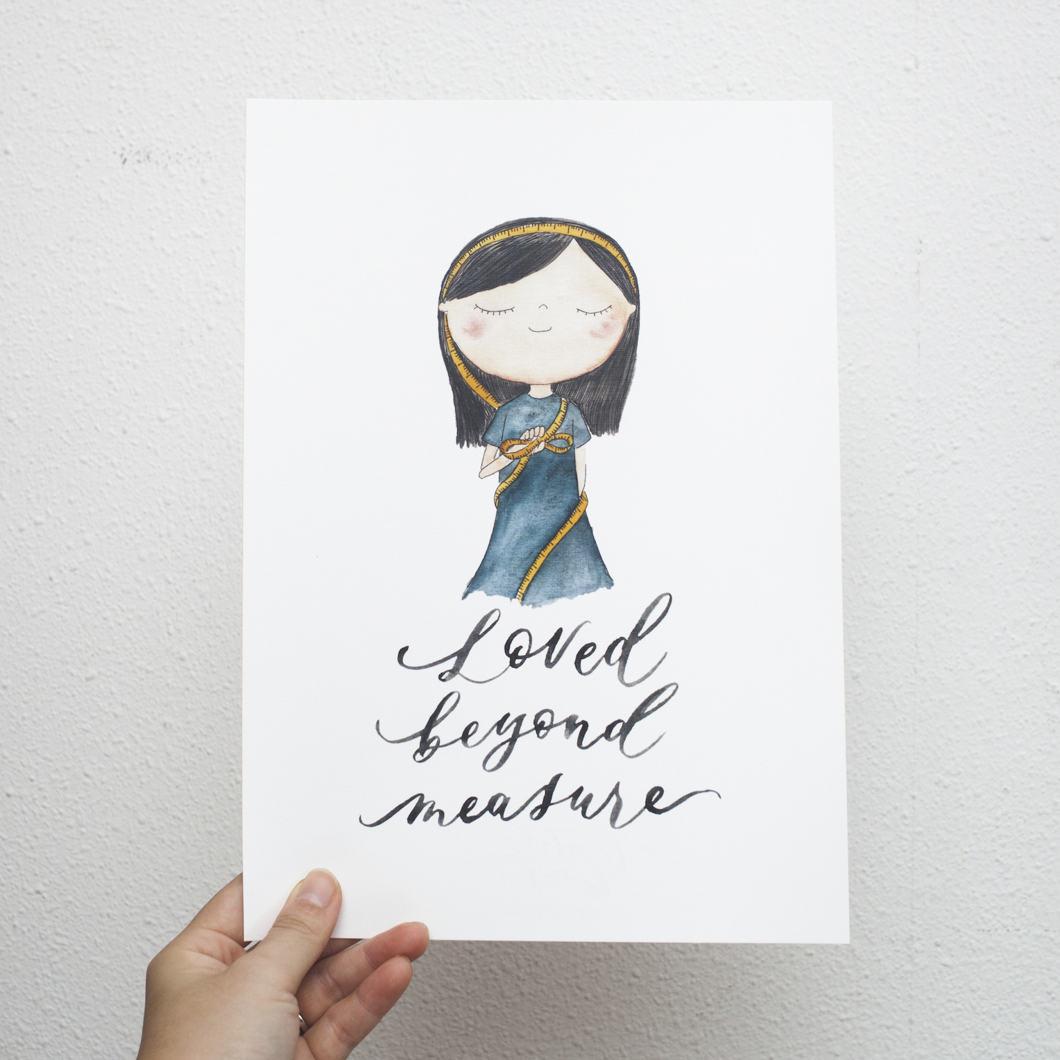 Loved Beyond Measure | Print