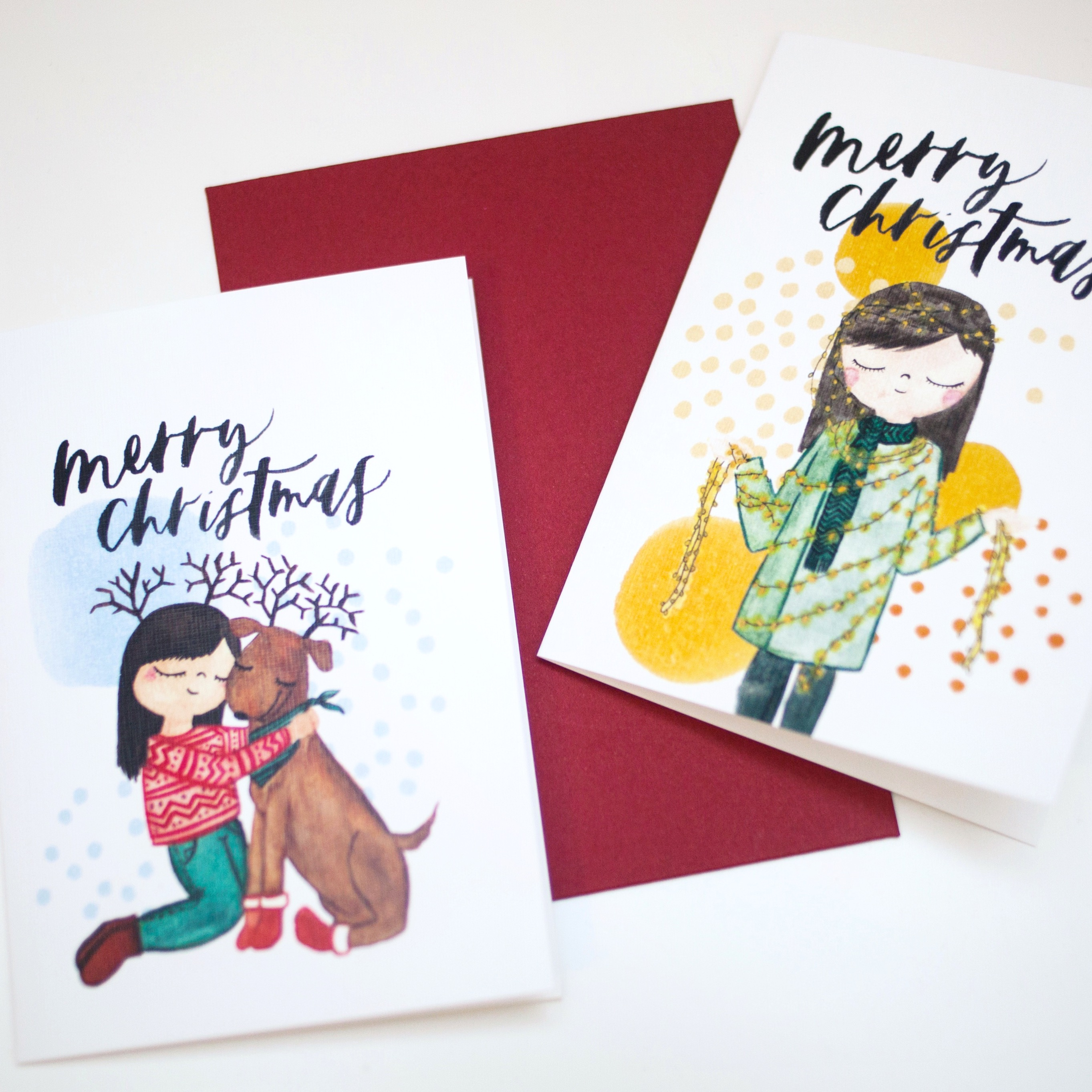 Little People Series | Christmas Cards