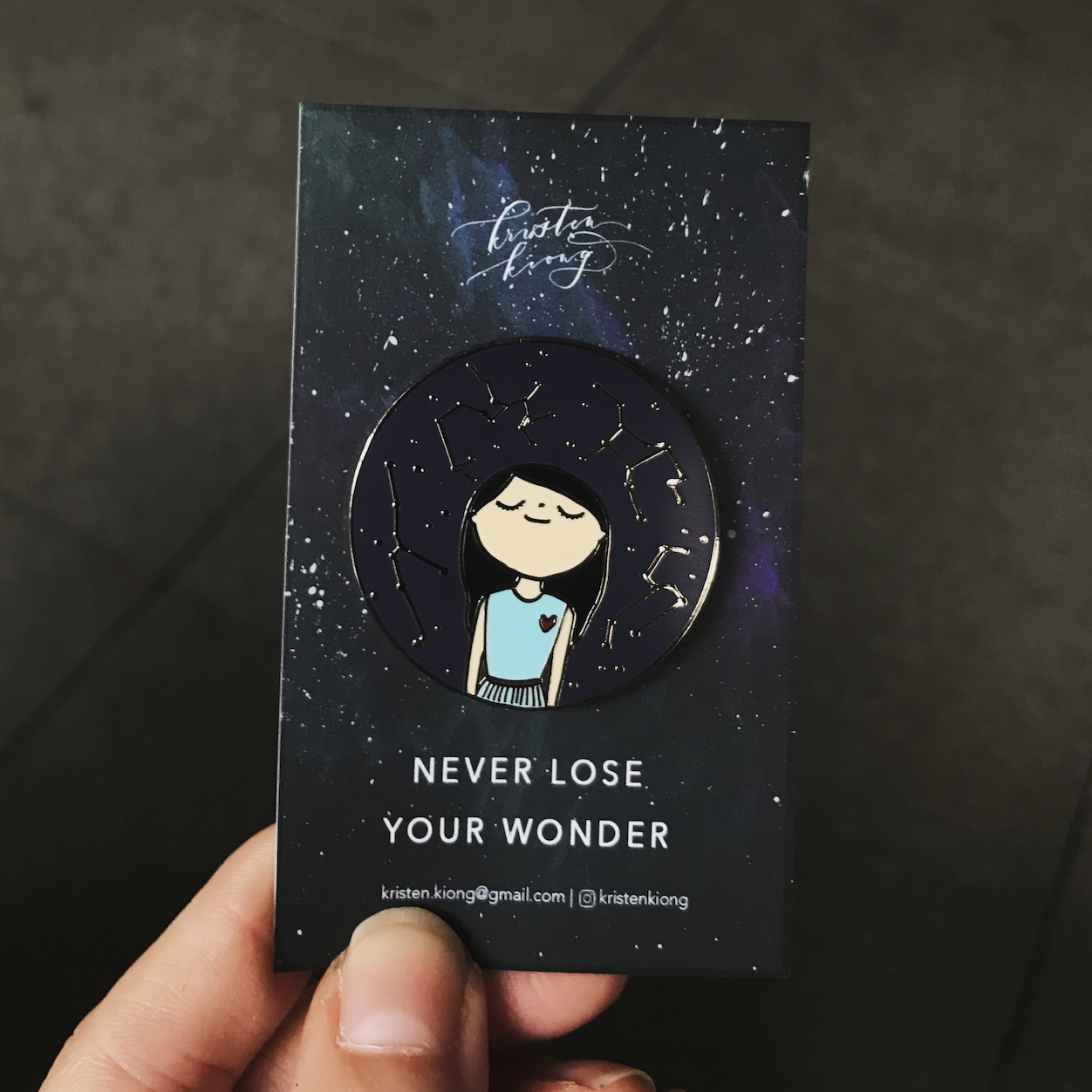 Never Lose Your Wonder | Brooch