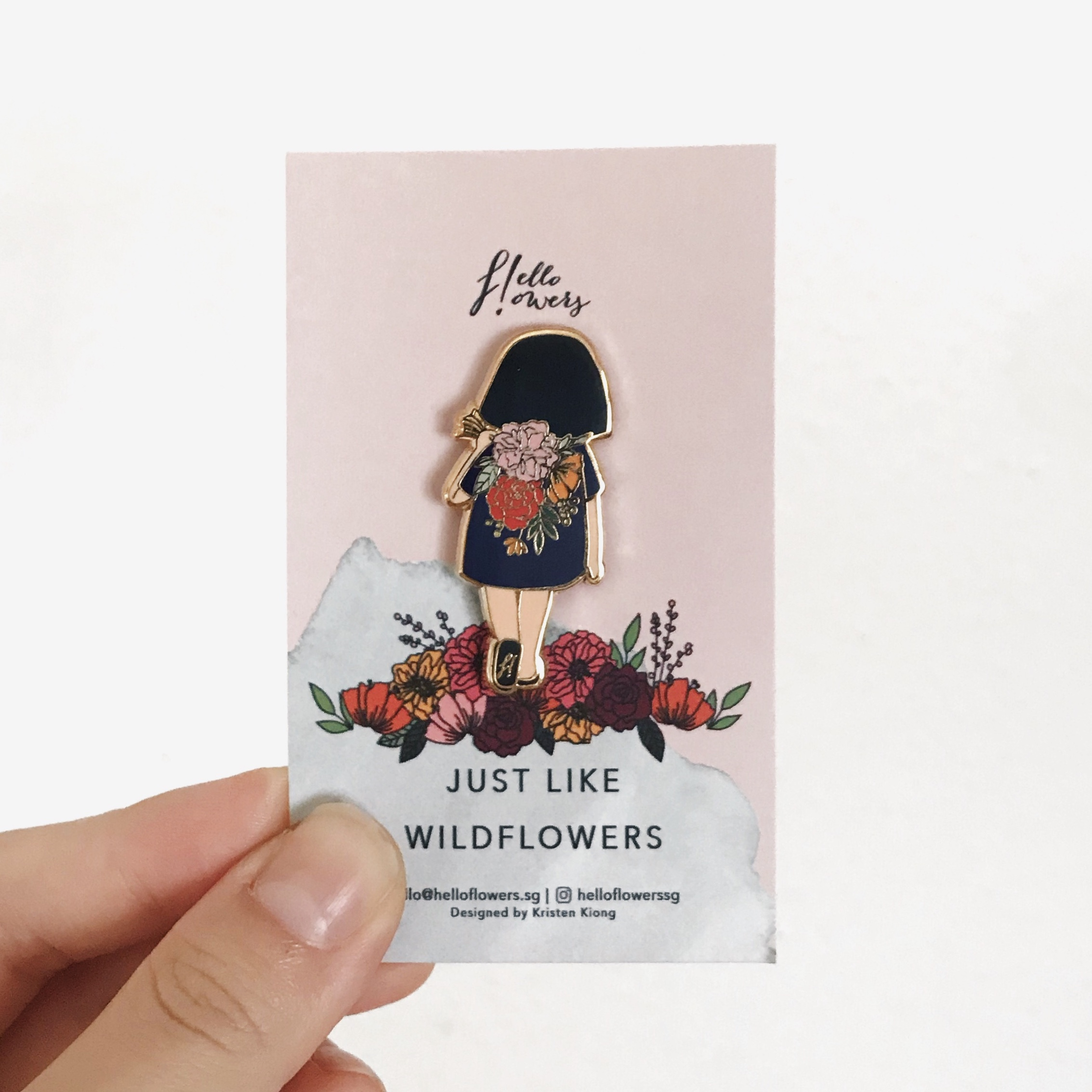 Just Like Wildflowers | Brooch